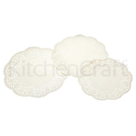 SDI Салфетки под торты белые 20см, 22см и 25см,  24 единицы  (арт. 138125)
