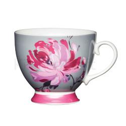 KC Чашка фарфоровая Розовый цветок
