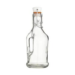 HM Пляшка скляна 210мл (17см) з ручкою