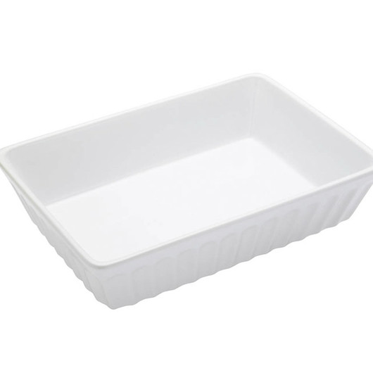 WFIT Блюдо для лазаньи белое 33см x 23см x 7см  (арт. 159229)