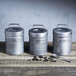 IK Емкость для хранения чая металлическая