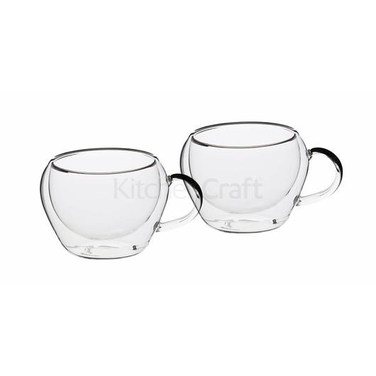 LX Набор чашек для  эспресо с двойной стенкой 80 мл, 2 шт.  (арт. 681539)