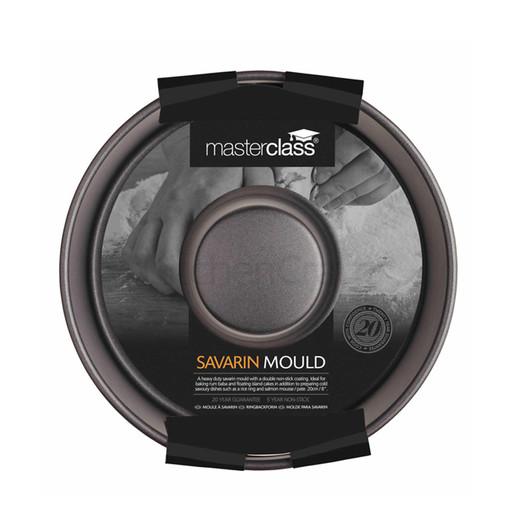 MC NS Форма для выпечки пирога Саварен круглая с антипригарным покрытием 20см  (арт. 168795)