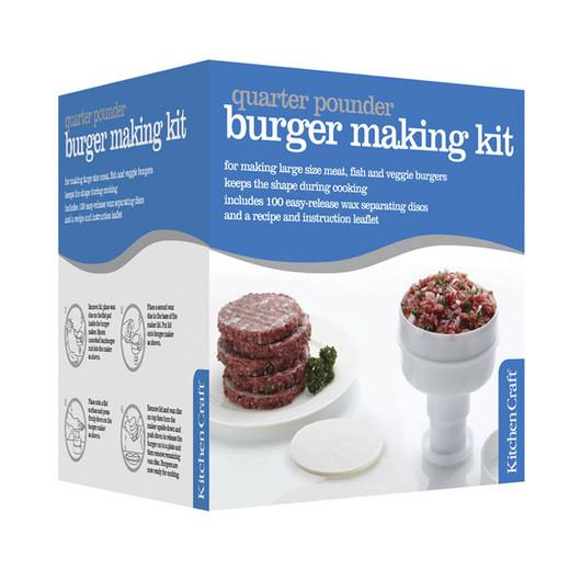 KC Пресс для формирования гамбургеров 100гр и 100 восковых разделительных листов  (арт. 177056)