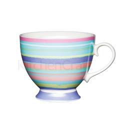 KC Чашка фарфоровая Яркие полоски