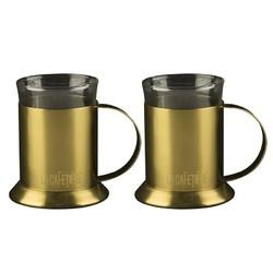 CT La Cafetiere Edited Набір чашок золотистого кольору 2 шт
