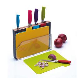 CW Набір ножів та досок 9 одиниць с підставкою