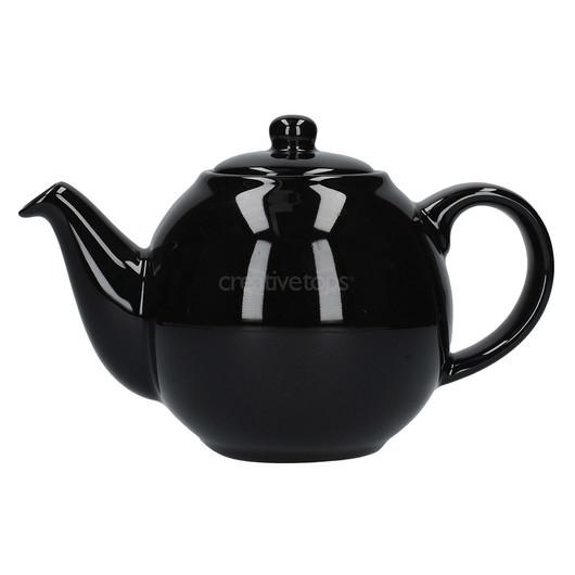 CT London Pottery Globe Чайник керамічний 500мл чорний глосс  (арт. 20185)