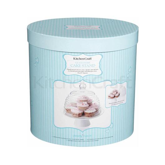 SDI Підставка для торта зі скляним куполом 25см  (арт. 419156)