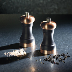 MC Мельница для соли медь и дерево бука, 12 см
