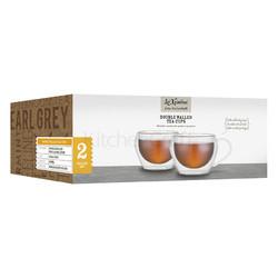 LX Набір чашок для чаю або кави з подвійною стінкою