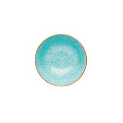 KC Миска керамическая Акварельные цветы 15.5x7.5см 500мл