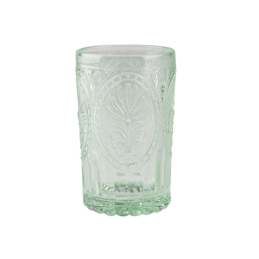 Katie Alice Festival Folk Стакан скляний зелений 350 мл  (арт. 5201939)