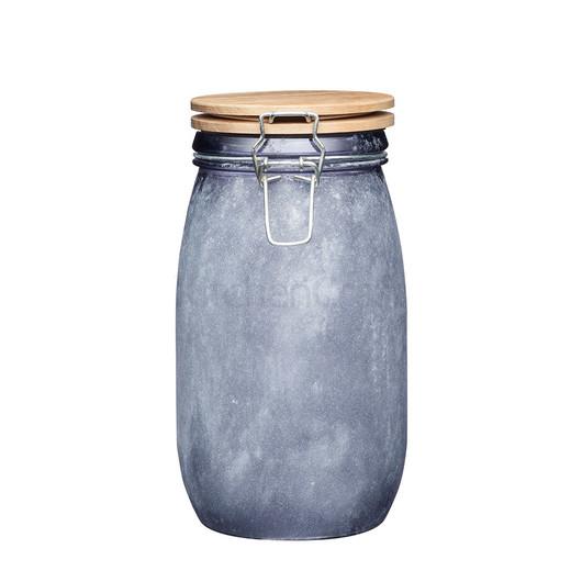 IK Банка для зберігання скляна з дерев'яною кришкою 1.5 л  (арт. 768100)