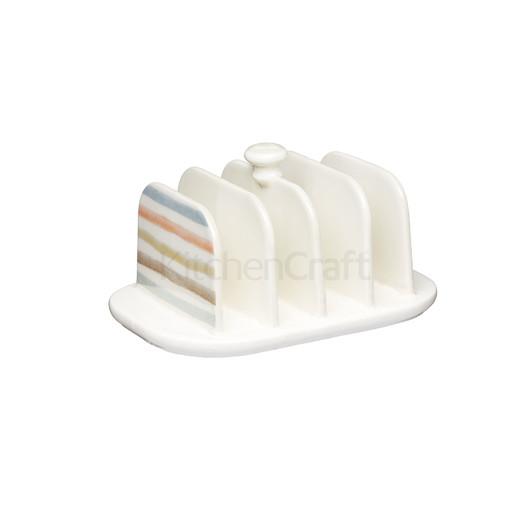 """CC Підставка для тостів керамічна """"Смужки""""  (арт. 704771)"""