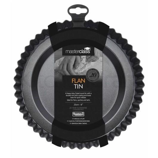 MC NS Форма для выпечки пирога круглая с антипригарным покрытием и  съемным дном  (арт. 421524)