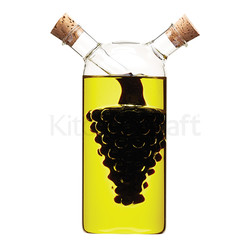 WFIT Пляшка для олії / оцту скляна подвійна 300 мл / 50мл