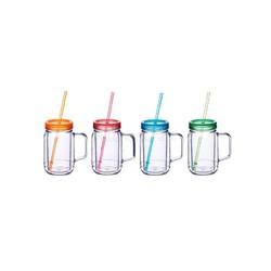 Coolmovers Romany Чашка пластиковая с крышкой и трубочкой 400 мл