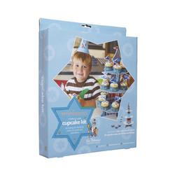Miniamo 'Sir Bakealot' Стійка для кексів картонна + прапорці