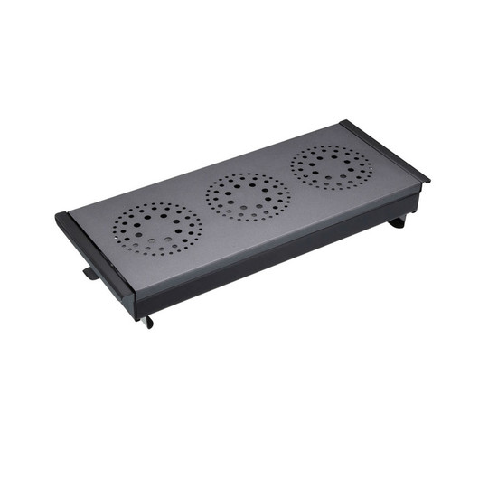 MCP Підігрівач деревний з вуглецевої сталі на 3 конфорки  (арт. 410146)