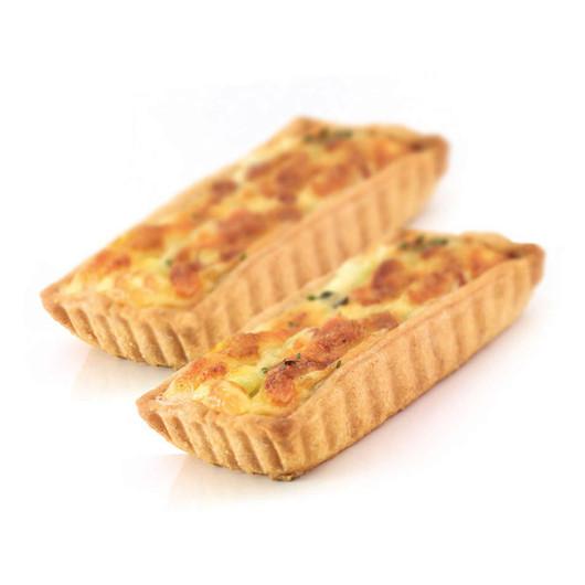 KC NS Форми для випічки міні-пирогів рифлені з антипригарним покриттям 11см х 6см 2 одиниці  (арт. 150363)