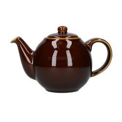 CT London Pottery Globe Чайник керамический 500мл коричневый