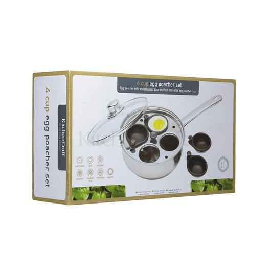 CV Пароварка для яєць з нержавіючої сталі 20,5см (4 яйця)  (арт. 119759)