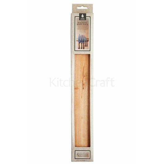 NE Держатель магнитный для ножей из дерева акации 45x2.5x6 см  (арт. 714169)