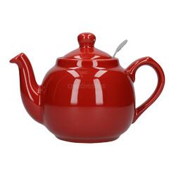 CT London Pottery Farmhouse Чайник керамічний 500мл червоний