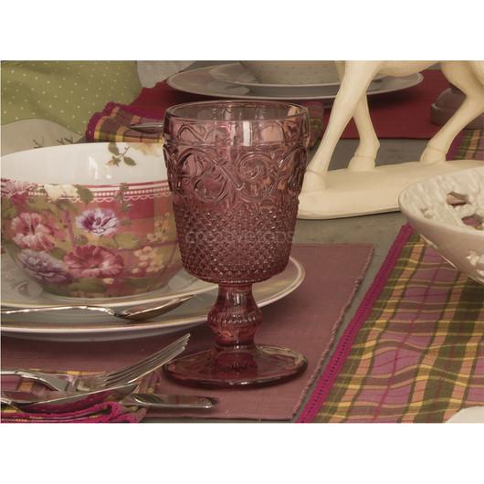 Katie Alice Highland Бокал стеклянный розовый  (арт. 5139264)