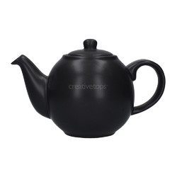 CT London Pottery Globe Чайник керамічний 500мл чорний матт