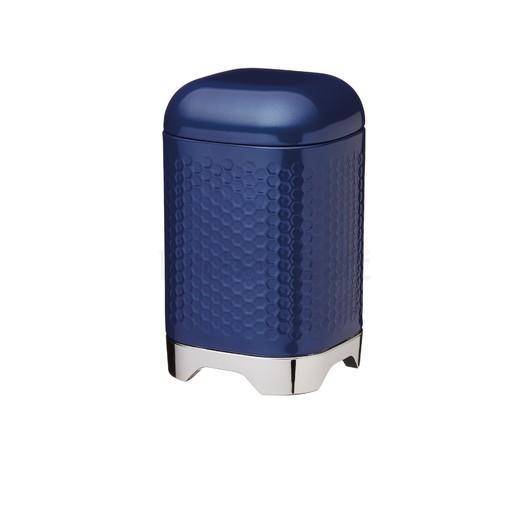 LovN Ємкість для зберігання металева синя 11*11*19 см