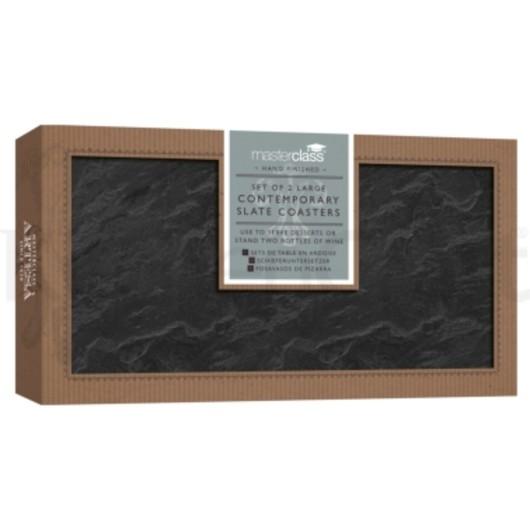 MC Artesa Подставки сервировочные грифельные прямоугольные 20 см х 10см,2 единицы  (арт. 474902)