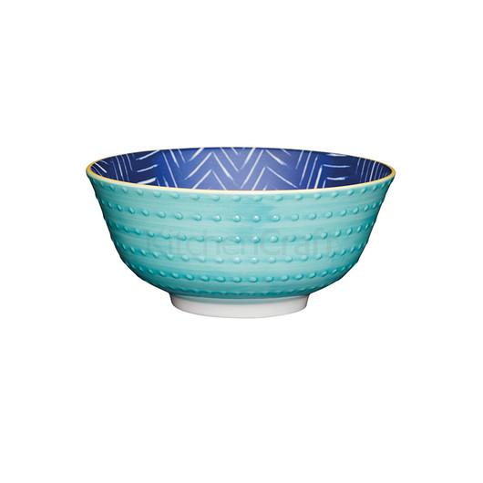 KC Миска керамическая Бирюзовая синева 15.5x7.5см 500мл  (арт. 778673)