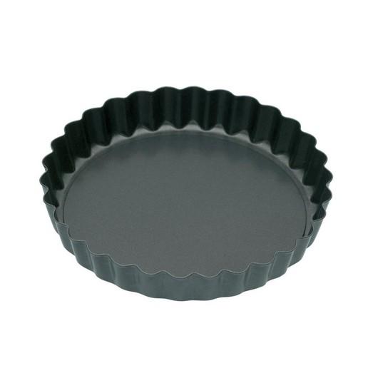 KC NS Формы для выпечки мини Тарталетки рифленые с антипригарным покрытием 10см 4 единицы  (арт. 421913)