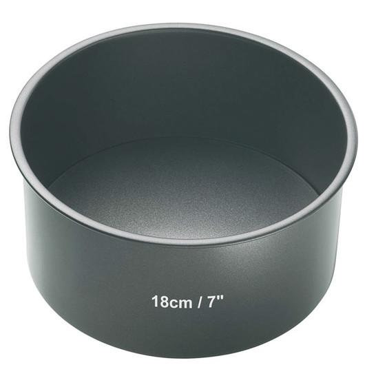 MC NS Форма для выпечки пирога круглая с антипригарным покрытием 18 см