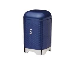 LovN Емкость для сахара металлическая синяя 11*11*19 см