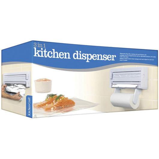 KC Ємність настінна для харчової плівки, фольги і кухонних рушників  (арт. 145529)