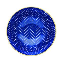 KC Миска керамическая Бирюзовая синева 15.5x7.5см 500мл