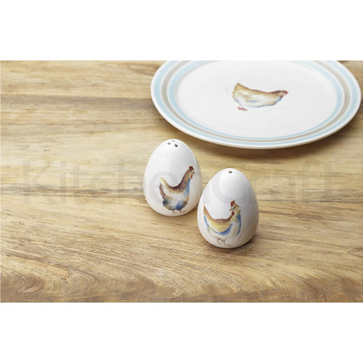 Hen Hause Набір керамічний для солі і перцю  (арт. 509505)