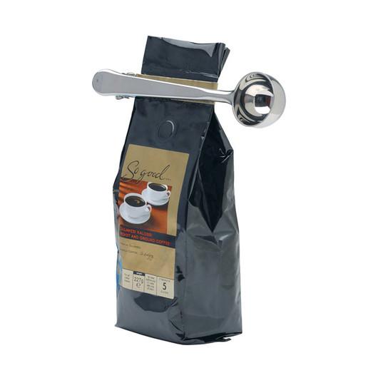 LX Ложка мерная для кофе и зажим из нержавеющей стали  (арт. 135247)