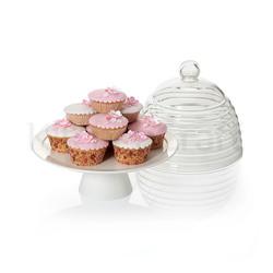 SDI Підставка для торта зі скляним куполом 25см