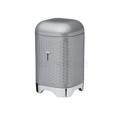 LovG Ємкість для чаю металева сіра 11*11*19 см