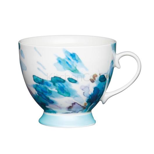 KC Чашка фарфоровая Голубая акварель 400 мл  (арт. 775238)