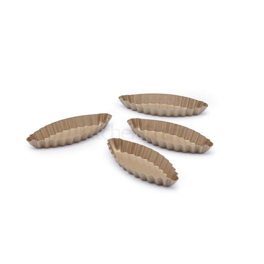 "Paul Hollywood Форма для  мини пирогов ""Кораблик"" 4 шт  (арт. 672469)"