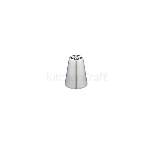SDI Насадка на кондитерський шприц з нержавіючої сталі середня Анютині очка 1,6 см  (арт. 795656)