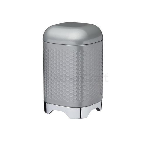 LovG Ємкість для зберігання металева сіра 11*11*19 см  (арт. 808417)