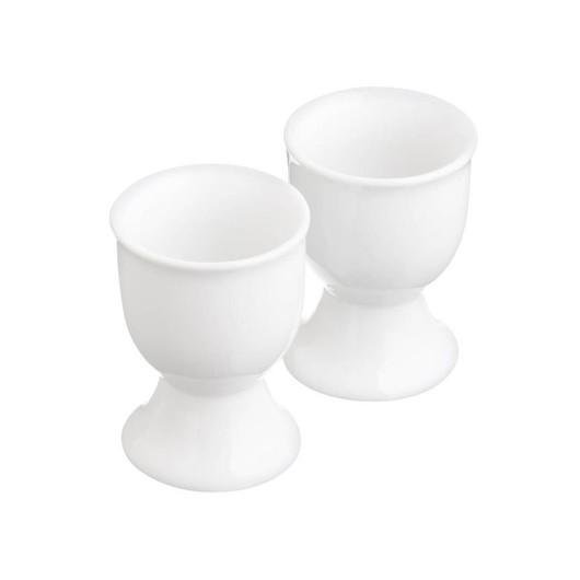 KC Підставки для яєць порцелянові білі 2 одиниці  (арт. 148971)