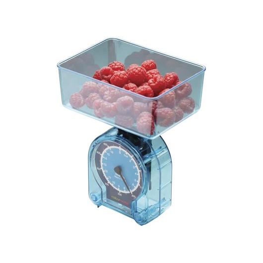 CW Весы кухонные механические 500гр синие