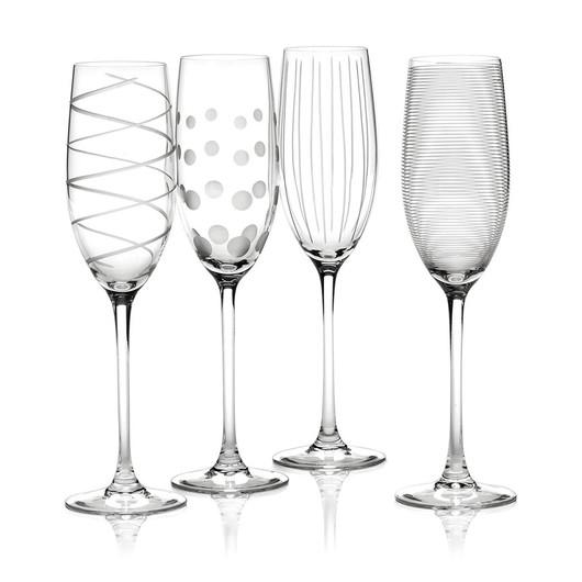 Mikasa Cheers Набір бокалів для шампанського із кришталевого скла 4 од  (арт. 5159318)
